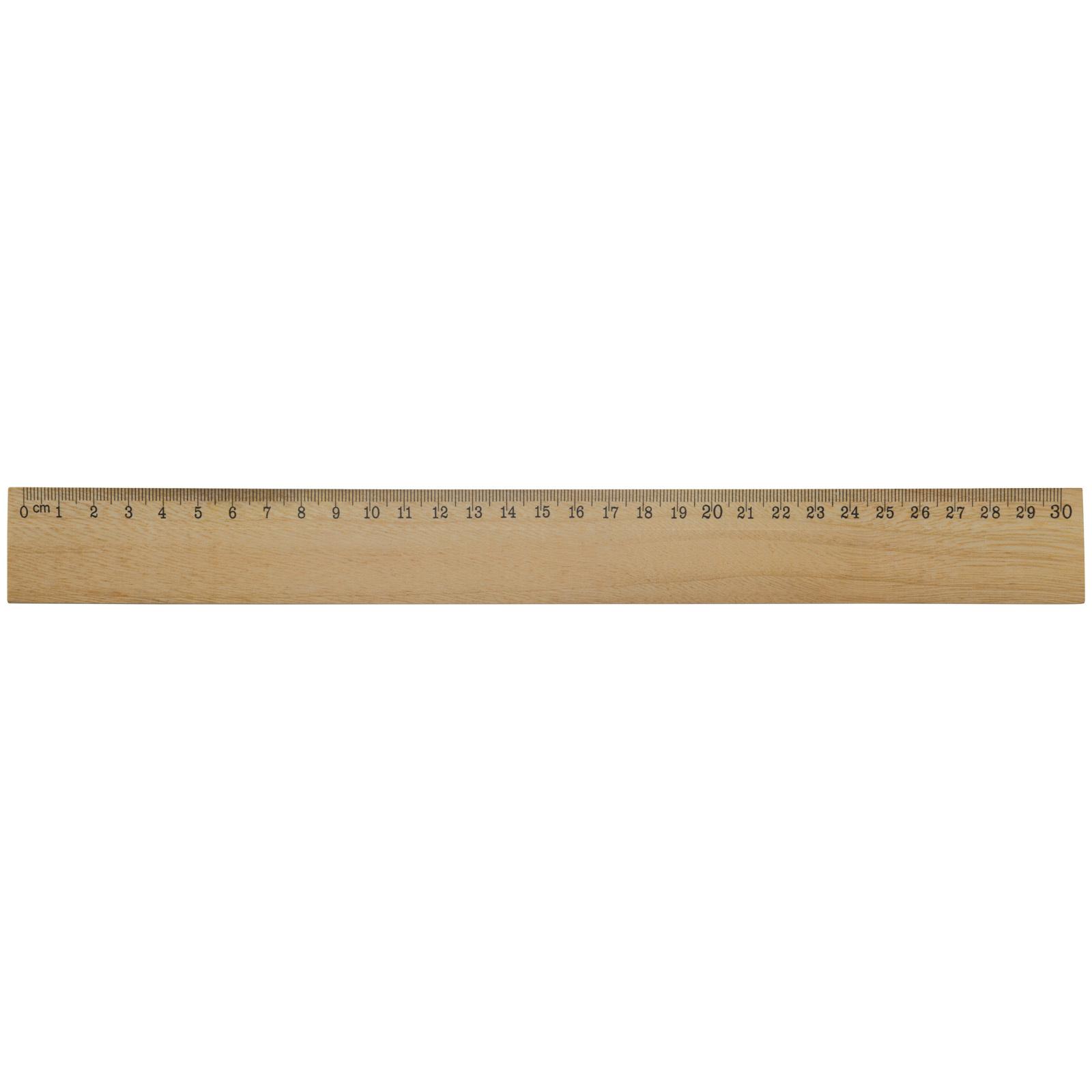 Houten liniaal 30cm LT91927