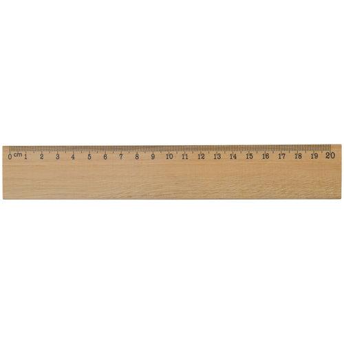 Duimstokken bedrukken Houten liniaal 20cm LT91926
