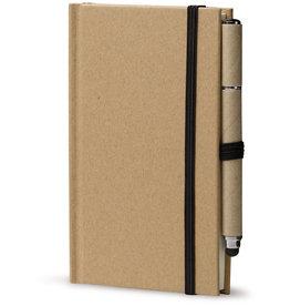 Notitieboekjes bedrukken Notitieboek karton A6 + balpen stylus LT90839