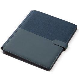 Schrijfmappen bedrukken Schrijfmap bedrukken - A4 portfolio met draadloze lader LT90940