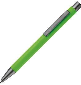 Pennen bedrukken Metalen balpen New York rubberised LT87767