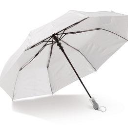 """Opvouwbare paraplu bedrukken Opvouwbare 21"""" paraplu auto open (alleen wit) LT97110"""