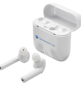 Oordopjes bedrukken Essos True Wireless auto-pair draadloze oordopjes met houder 124126