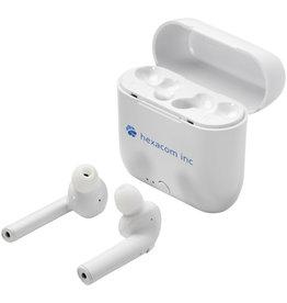 Oordopjes relatiegeschenk Essos True Wireless auto-pair draadloze oordopjes met houder 124126