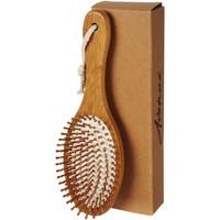 Bad & Wellness geschenken bedrukken Cyril massage- en haarborstel van bamboe