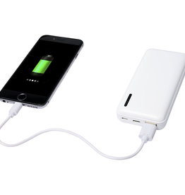 Powerbank bedrukken Compress 10.000 mAh powerbank met hoge dichtheid