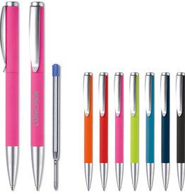 Pennen bedrukken Metalen balpen Modena rubberised LT87762