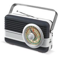 Powerbank bedrukken Powerbank 6000mAh & retro speaker 3W LT91110