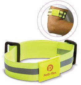 Veiligheidsgeschenk bedrukken Safety armband fluor EN13356 LT91206