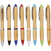 Pennen bedrukken Nash balpen van bamboe