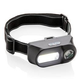 COB lamp relatiegeschenk COB en LED hoofdlamp P518.04