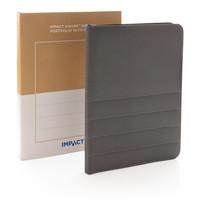 Schrijfmappen bedrukken Impact AWARE™ RPET A4 portfolio met rits P774.16