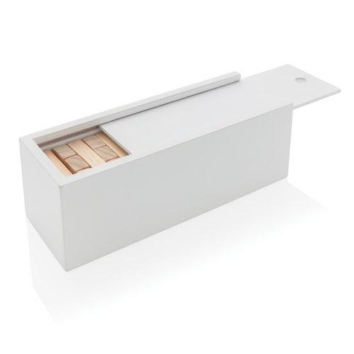 KINDERGESCHENKEN bedrukken Deluxe houtblok stapelspel P940.08