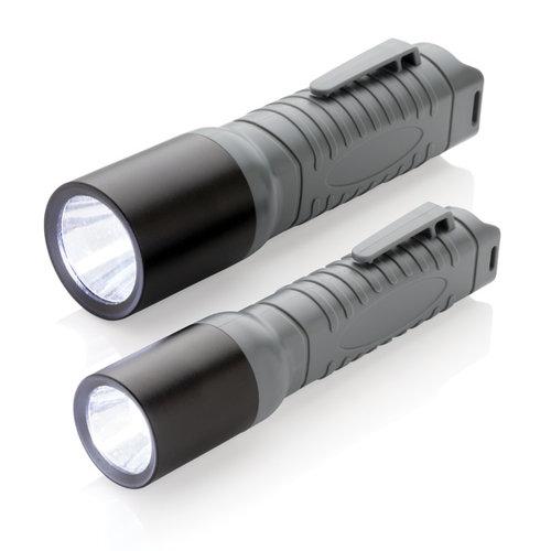 Zaklampen bedrukken 3W lichtgewicht zaklamp medium P513.81