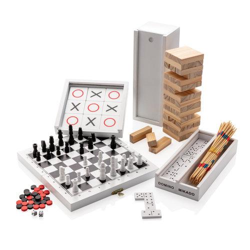 KINDERGESCHENKEN bedrukken Deluxe mikado/domino in houten doos P940.07