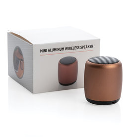 Speakers bedrukken Mini aluminium draadloze speaker P329.39