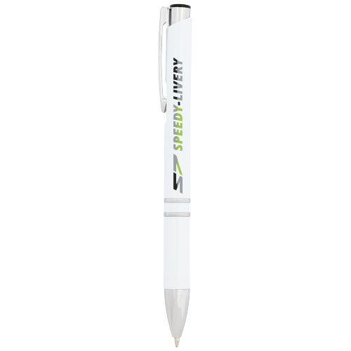 Corona preventie gerelateerde relatiegeschenken Moneta anti-bacterial ballpoint pen 107717