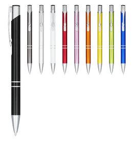 Pennen bedrukken als relatiegeschenk Moneta geanodiseerde aluminium balpen