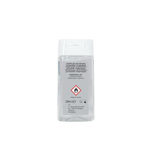 Corona preventie gerelateerde relatiegeschenken Antibacteriële reinigingsgel Made in Europe 28ml - LT92716