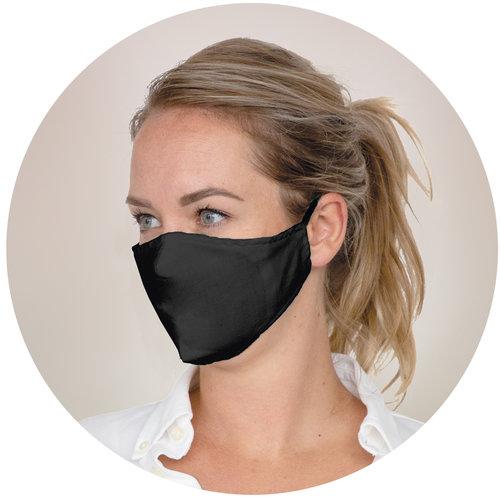 Corona preventie gerelateerde relatiegeschenken Herbruikbaar 2-laags mondkapje met anti-bacterieel filter, gecertificeerd voor Frankrijk (UNS1) - LT93956