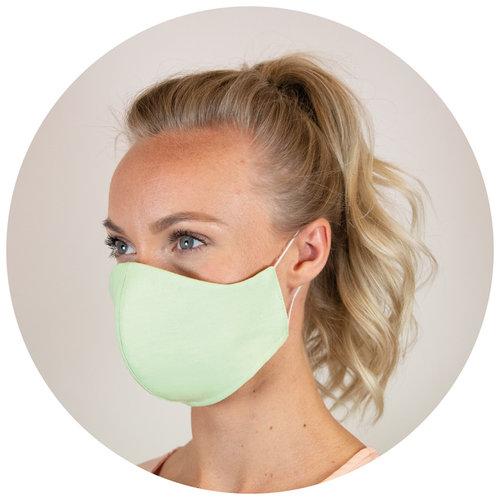 Corona preventie gerelateerde relatiegeschenken Herbruikbaar gezichtsmasker medisch katoen 3-laags Made in Europe - LT93955
