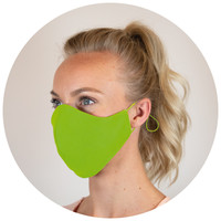 Corona preventie gerelateerde relatiegeschenken Herbruikbaar gezichtsmasker katoen 3-laags Made in Europe - LT93954