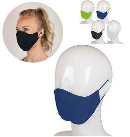 Corona preventie producten Herbruikbaar gezichtsmasker katoen 3-laags Made in Europe - LT93954