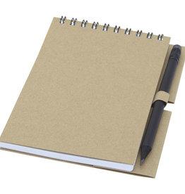 Notitieboekjes bedrukken Luciano Eco ringbandnotitieboek met potlood - klein