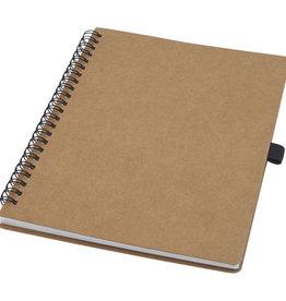 Notitieboekjes bedrukken Cobble A5 wire-o gerecycled kartonnen notitieboek met steenpapier