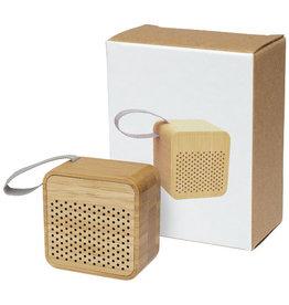 Speakers relatiegeschenk Arcana bamboe Bluetooth®-speaker