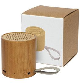 Speakers relatiegeschenk Lako bamboe Bluetooth®-speaker