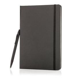 Notitieboekjes bedrukken A5 hardcover notitieboek met touchscreen pen - P773.255