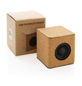 Speakers relatiegeschenk Kurk 3W draadloze speaker