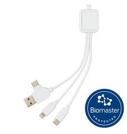 Smartphone accessoires bedrukken 6-in-1 Antimicrobiële kabel