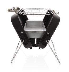 Barbecue geschenken bedrukken Deluxe draagbare barbecue in koffer