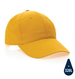 Caps relatiegeschenk Impact 6 panel 190gr gerecycled katoenen cap met AWARE™ trac