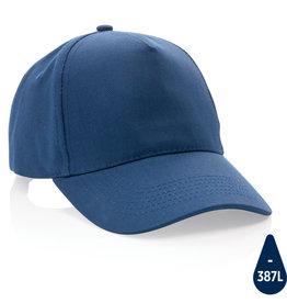 Caps bedrukken Impact 5 panel 280gr recycled katoenen cap met AWARE™ tracer
