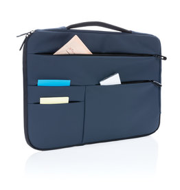 "Laptoptassen bedrukken Smooth PU 15.6"" laptop sleeve met handvat PVC-vrij"
