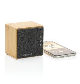 Speakers relatiegeschenk Wynn 5W bamboe draadloze speaker
