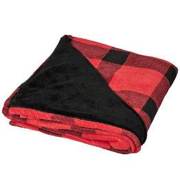 Fleece dekens relatiegeschenk Buffalo ultra pluche plaiddeken