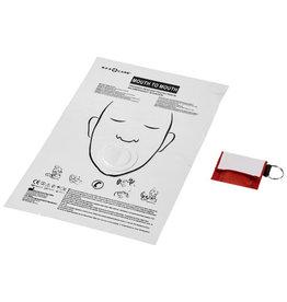 EHBO geschenken relatiegeschenk Henrik mond-op-mondschild in polyester etui