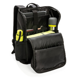 """Rugzakken bedrukken Swiss Peak RFID easy open 15"""" laptop rugzak PVC vrij"""