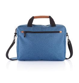 Laptoptassen bedrukken als relatiegeschenk PVC vrije fashion duo tone laptop tas