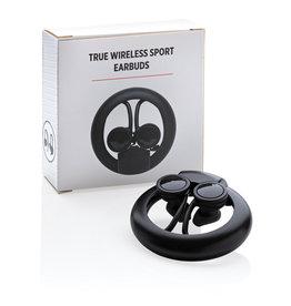 Oordopjes relatiegeschenk True Wireless sport oordoppen