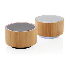 Speakers relatiegeschenk Bamboo 3W draadloze speaker