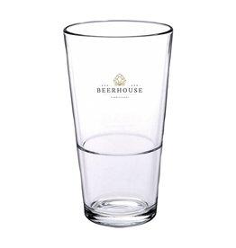 Glazen bedrukken Bierglas Vaasje Stapelbaar 340 ml 1068
