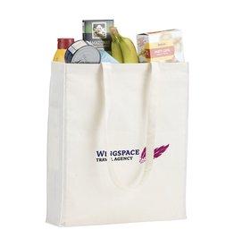 Natural Square Bag (165 g/m²) katoenen tas 3680