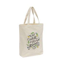 Boodschappentas relatiegeschenk Canvas ShoppyBag korte hengsels tas 4034
