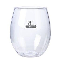 Relatiegeschenk bedrukken Ruby Waterglas Tritan-plastic 400 ml 4137