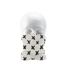 Sjaal en handschoenen relatiegeschenk Bandana multifunctionele sjaal met all-over opdruk 4347